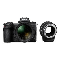 Nikon Z7II Body + 24-70 f4 + FTZ Adapter Kit